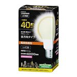 5個セット YAZAWA 一般電球形LED 40W相当 電球色 LDA5LG3X5