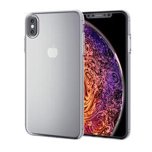 (まとめ)エレコム iPhone XS Max/ソフトケース/薄型/クリア PM-A18DUCUCR【×2セット】