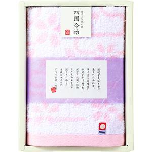 (まとめ)今治タオル ウォッシュタオル 桜 C9121627【×5セット】
