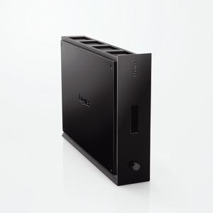 Logitec(ロジテック) USB2.0 パスワードロック&冷却システム搭載 外付型HDD 640GB LHD-HBS640U2