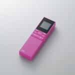 Logitec(ロジテック) microSD対応ICレコーダー microSD/4GB付属(ピンク) LIC-SR500M04PN