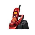 ユニデン 2.4GHzデジタルコードレス電話 UCT-002R メタリックレッド
