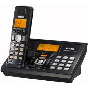 ユニデン 2.4GHzデジタルコードレス電話 UCT-105B ブラックメタリック