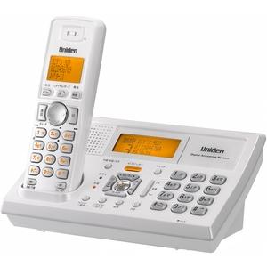 ユニデン 2.4GHzデジタルコードレス電話 UCT-105W ホワイトメタリック