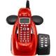ユニデン ディズニーキャラクターコードレス留守番電話機(ディズニー着信音)UCT-012R メタリックレッド  - 縮小画像2
