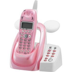 ユニデン ディズニーキャラクターコードレス留守番電話機(ディズニー着信音)UCT-012P パールピンク  - 拡大画像