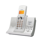 ユニデン 2.4GHzデジタルコードレス電話 UCT-005-W ホワイトメタリック