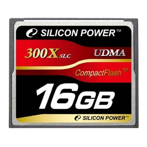 SILICON POWER(シリコンパワー) コンパクトフラッシュ 300倍速 16GB - 拡大画像