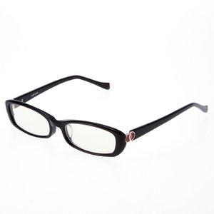 鯖江製 ヨシムラ ブルーライト対応PCメガネ ブラック NCP-0149BK - 拡大画像