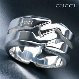 GUCCI デザインリング 135288J8400 16号