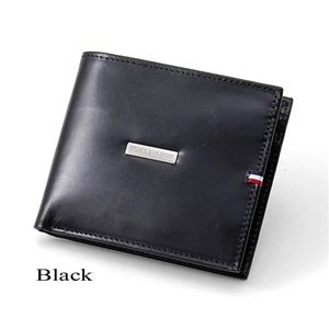 TOMMY HILFIGER(トミーヒルフィガー) 二つ折財布 DEERFIELD 0096-5169 Black - 拡大画像
