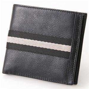 BALLY(バリー) ふたつ折り財布 TIEN TN90・Black - 拡大画像