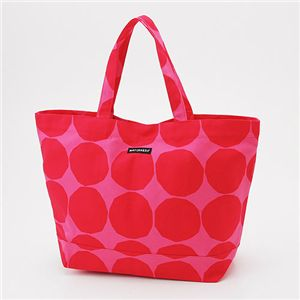marimekko(マリメッコ) トートバッグ OPPALI 22960-330【Pink×Red】