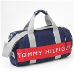 TOMMY HILFIGER(トミーヒルフィガー) ボストンバッグ HARBOUR POINT2 Navy×Red