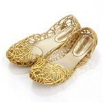 melissa(メリッサ) ラバーシューズ CAMPANA IV Gold Glitte EUR 37(23.5-24.0cm)