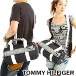 TOMMY HILFIGER(トミーフィルフィガー) デニム ミニボストンバッグ MINI DUFFLE HARBOUR P