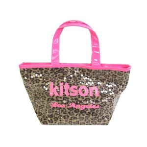 kitson(キットソン) SEQUIN MINI TOTE LEOPARD PK/PK・4020