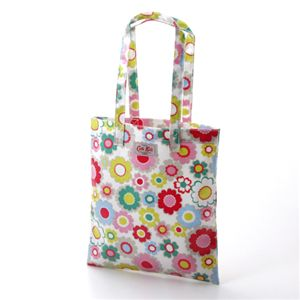 CATH KIDSTON(キャスキッドソン) オイルクロス トートバッグ KIDS BOOK BAG 279598・Electric Flowers Multi - 拡大画像