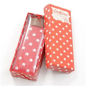 Cath Kidston(キャスキッドソン) ギフトボックス入 折り畳み傘 TINY2 Gift Box・Star Red
