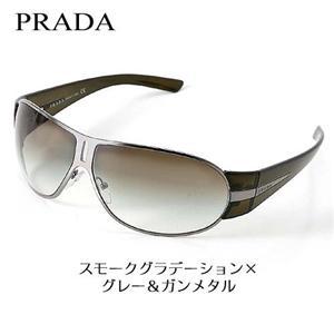 選べる3カラー♪PRADA サングラス 60HS-5AV/4M1 スモークグラデーション×グレー&ガンメタル - 拡大画像