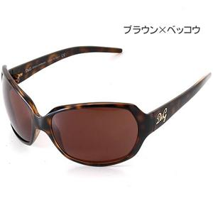 D&G サングラス 8018-502/73 ブラウン×ベッコウ