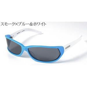 MIUMIU サングラス 12ES-4BN/1A1/スモーク×ブルー&ホワイト - 拡大画像