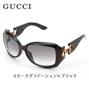 GUCCI(グッチ) サングラス Asian Fitting 2991F-D28/VJ/スモークグラデーション×ブラック - 拡大画像