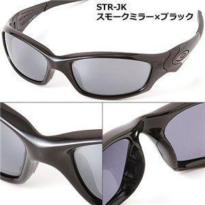 OAKLEY(オークリー) サングラス STR-JK-P BK/BK/スモークミラー×ブラック - 拡大画像