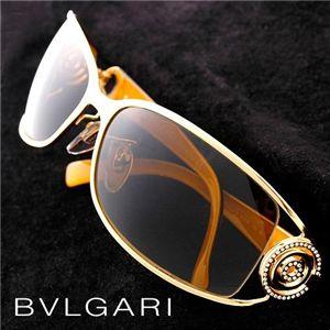 BVLGARI(ブルガリ) サングラス Asian Fitting 6003BA-101/73 オリーブ×ゴールド&ブラックイエロー - 拡大画像