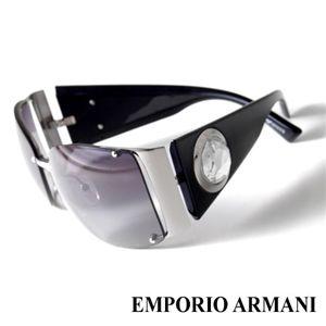 EMPORIO ARMANI サングラス 9458F/BGY/VK/ライトスモークグラデーション×シルバー&ブラック - 拡大画像