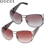 GUCCI(グッチ) サングラス 2827 2827-1RX/02/ブラウングラデーション×ブロンズ&クリアグレーブラウン