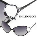 EMILIO PUCCI(エミリオプッチ) サングラス 108-002スモークグラデーション×ブラック【送料無料】