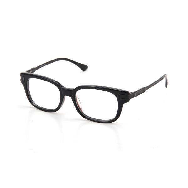 nbt(エヌビーティー) ダテメガネ&nb太ディスプレイ ブラックレッド&ブラック NBV02-3&ディスプレイf00