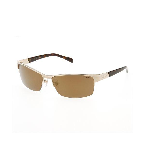 POLICE(ポリス) チタンフレーム サングラス ゴールドミラー&ライトゴールド 8687J-300Wf00