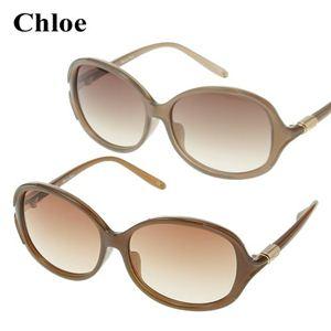 Chloe(クロエ) アジアンフィッティング サングラス 2278-02 ブラウングラデーション×クリアブラウン - 拡大画像