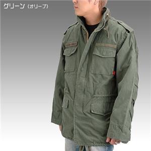 ROTHCO社 M-65 ミリタリー フィールドジャケット オリーブ Mサイズ - 拡大画像
