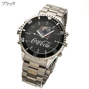 Coca-Cola MP3ウォッチ MW-158 ブラック - 拡大画像