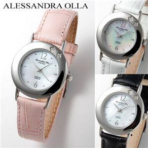 Alessandra Olla(アレサンドラ・オーラ) 天然シェルレディースウォッチ AO-6900 ピンク