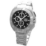 COGU(コグ) 腕時計 クロノグラフ スモールセコンド メンズウォッチ CG-CS20 BK ブラック