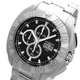 COGU(コグ) 腕時計 クロノグラフ スモールセコンド メンズウォッチ CG-CS20 BK ブラック - 縮小画像3
