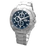COGU(コグ) 腕時計 クロノグラフ スモールセコンド メンズウォッチ CG-CS20 BLブルー