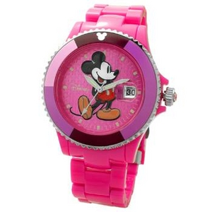 Disney(ディズニー) 腕時計 Mickey Mouse(ミッキーマウス) D91084SVPK ピンク - 拡大画像
