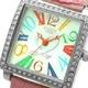 COGU(コグ) 腕時計 Ryo リョウ スクエアシリーズ カラフルインデックス ピンク RYO1206S-C1P レディースウォッチ - 縮小画像2