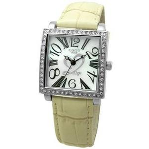 COGU(コグ) 腕時計 Ryo リョウ スクエアシリーズ アイボリー RYO1206S-B1IV レディースウォッチ - 拡大画像