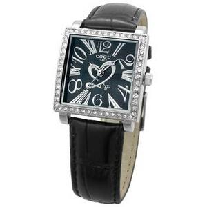 COGU(コグ) 腕時計 Ryo リョウ スクエアシリーズ ブラック RYO1206S-S2B レディースウォッチ - 拡大画像