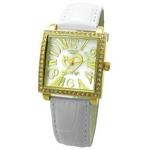 COGU(コグ) 腕時計 Ryo リョウ スクエアシリーズ ゴールドケース ホワイト RYO1206G-G1W レディースウォッチ