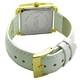 COGU(コグ) 腕時計 Ryo リョウ スクエアシリーズ ゴールドケース ホワイト RYO1206G-G1W レディースウォッチ - 縮小画像3