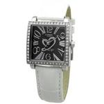 COGU(コグ) 腕時計 Ryo リョウ スクエアシリーズ ブラック文字盤 ホワイト RYO1206S-S2W レディースウォッチ