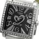 COGU(コグ) 腕時計 Ryo リョウ スクエアシリーズ ブラック文字盤 ホワイト RYO1206S-S2W レディースウォッチ - 縮小画像2
