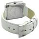 COGU(コグ) 腕時計 Ryo リョウ スクエアシリーズ ブラック文字盤 ホワイト RYO1206S-S2W レディースウォッチ - 縮小画像3